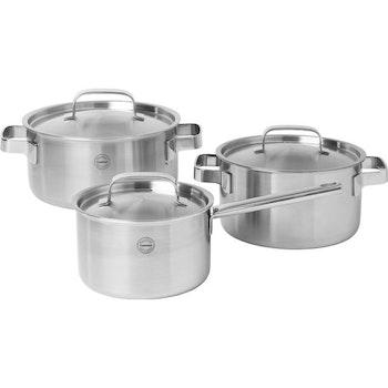 Pillivuyt gourmet Somme round pot with lid 24cm/5L