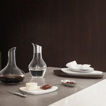 Georg Jensen Vann kraffel glass/stål