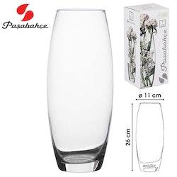 Pasabahce Vase Glass 26 cm