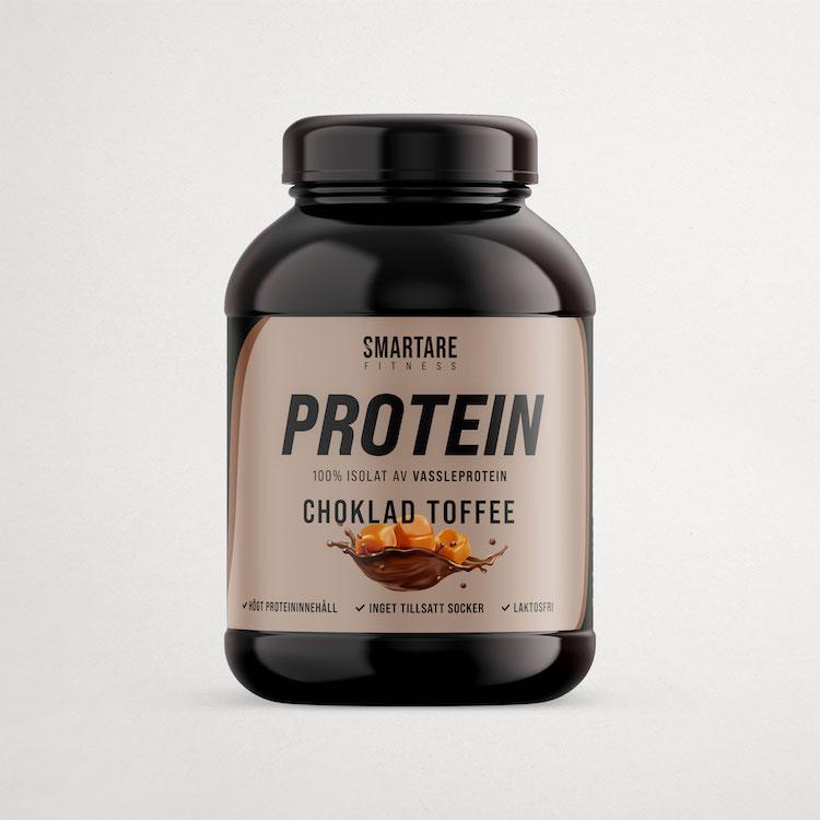 Protein – Choklad Toffee – Vassleproteinisolat