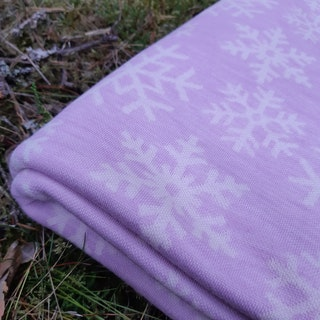 Snöflinga - Rosenrosa
