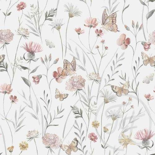 Blommor & fjärilar