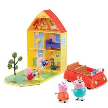 Greta Gris Family Home Play Set