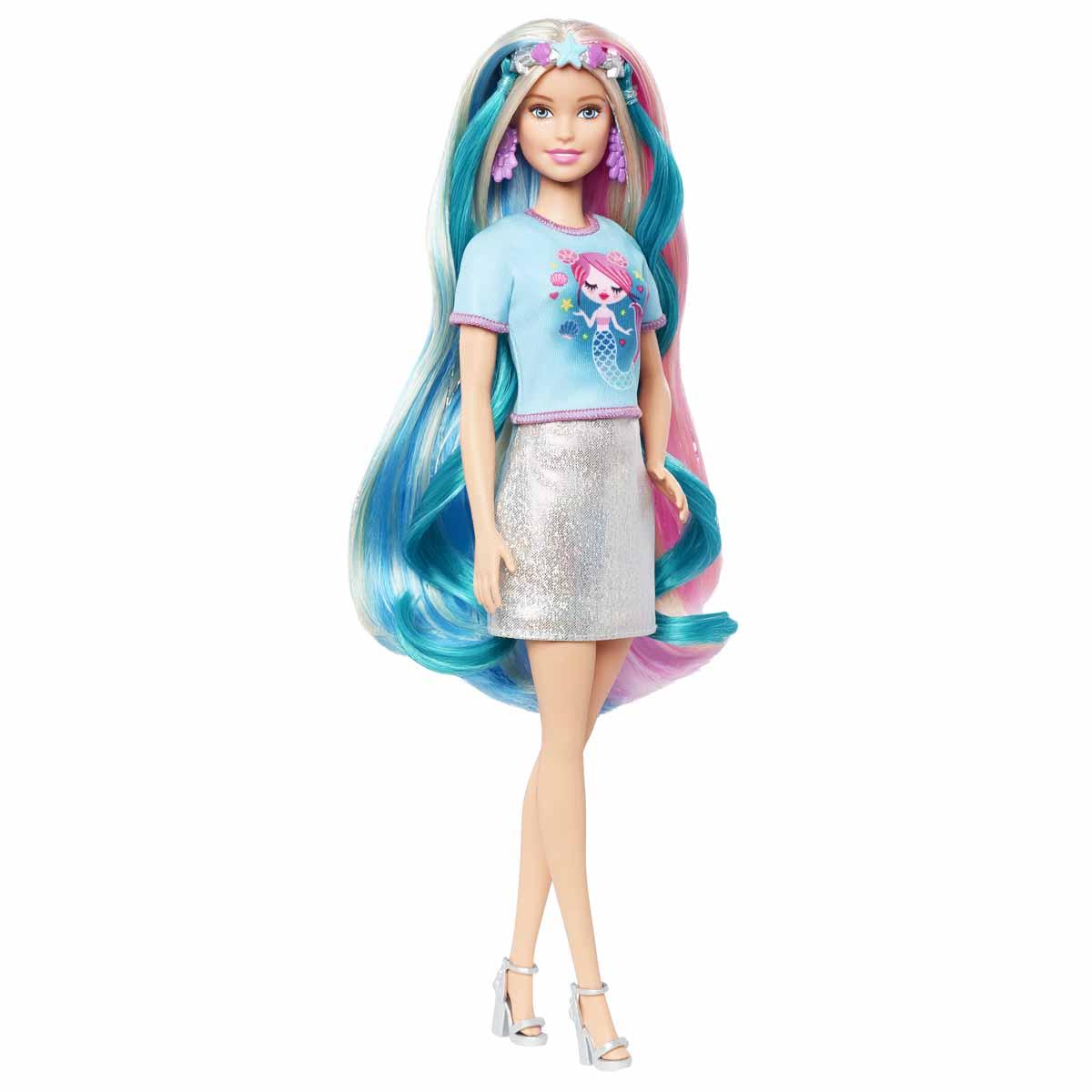 Barbie, FAB Fantasy Hair Doll 1