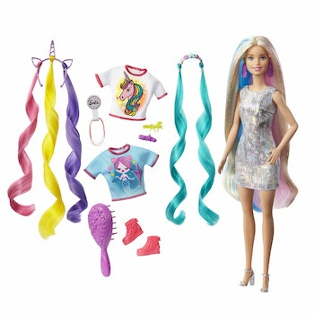 Barbie, FAB Fantasy Hair Doll 1