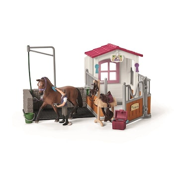 Schleich, Wash area with Horse stall