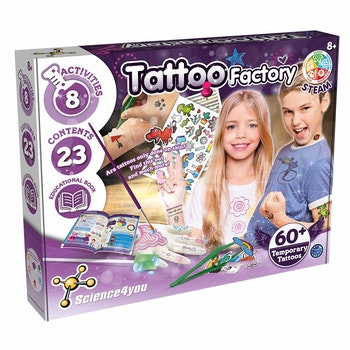 Science4you, Tattoo Factory