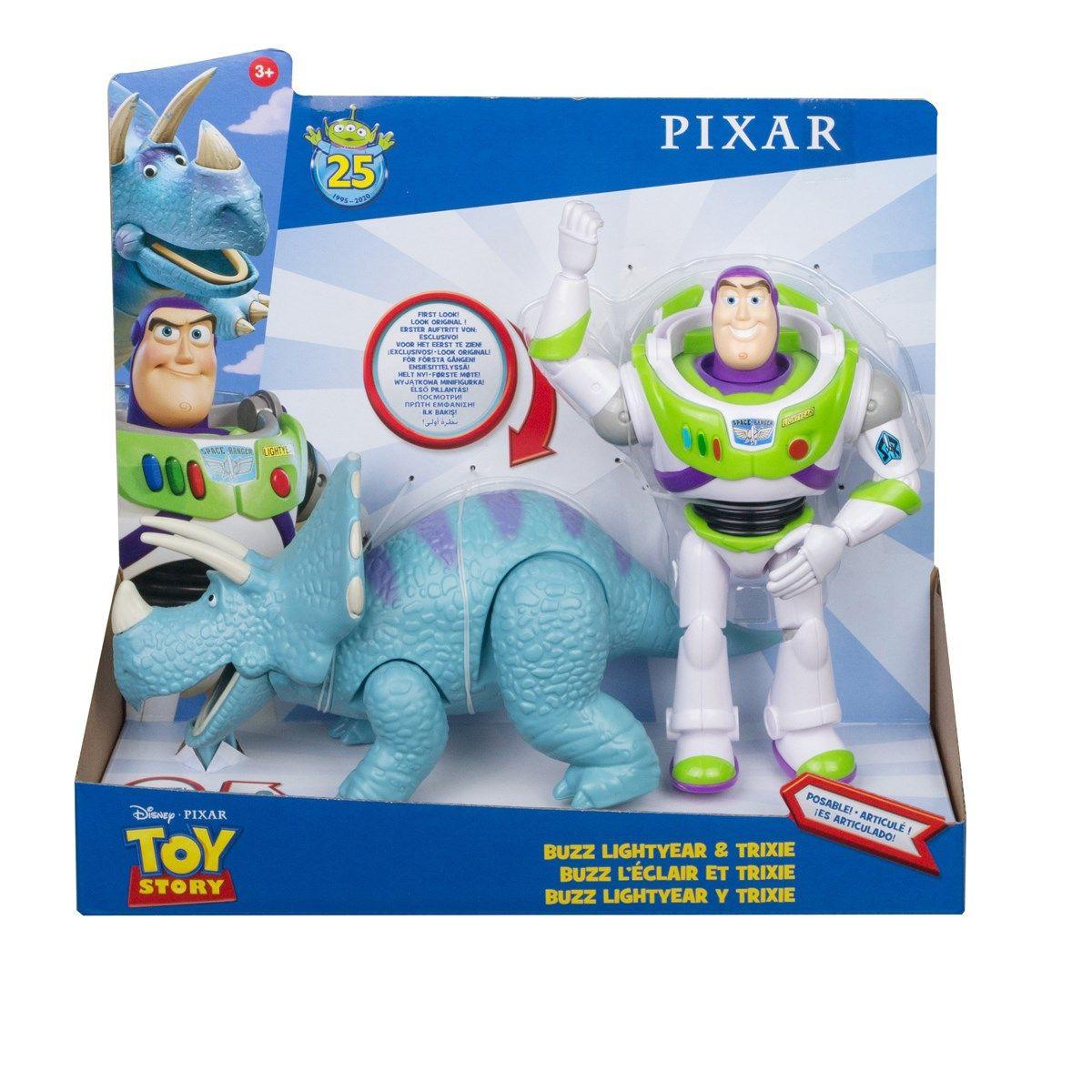 Toy Story 4, Buzz & Trixie