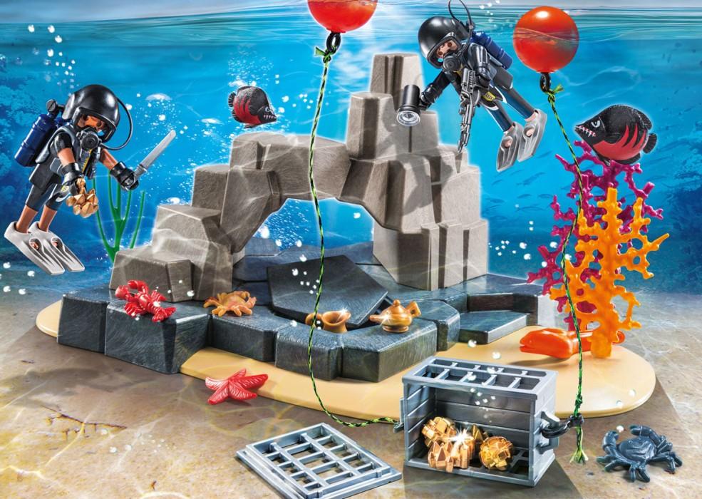 Playmobil City Action - SuperSet Dyk med insatsstyrkan