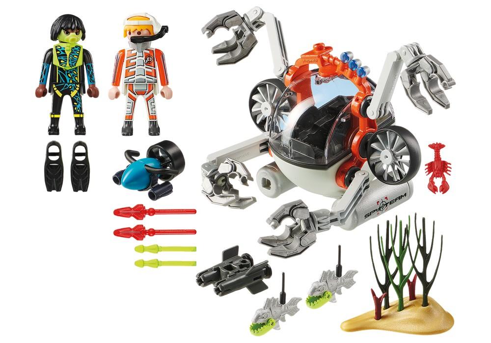 Playmobil Top Agents - SPY TEAM Undervattensverkstad