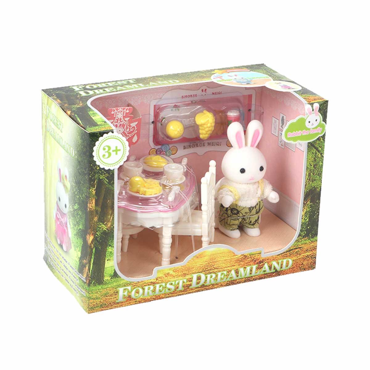 Forest Dreamland, Kanin med Stol & bord
