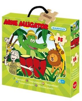 Askpussel, Arne Alligator 15 Bitar