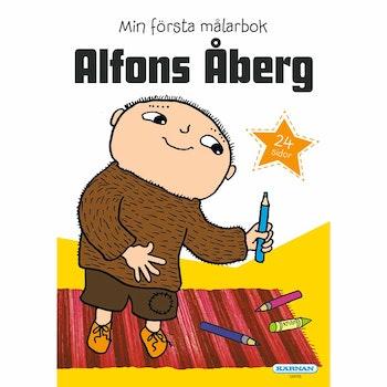 Alfons Åberg Min Första Målarbok