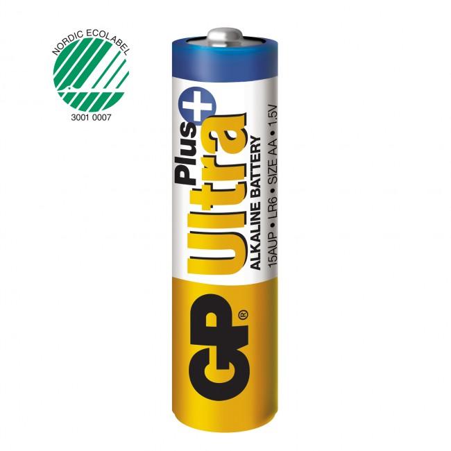 GP, Batteri AA Ultra Plus - 10 st
