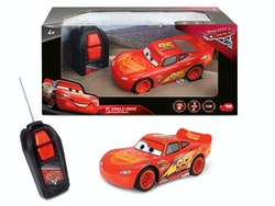 Disney Cars 3, R/C Lightning McQueen Single Drive 1:32