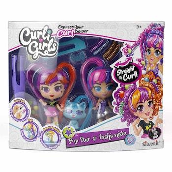 Curli Girls 2 pack med husdjur & tillbehör