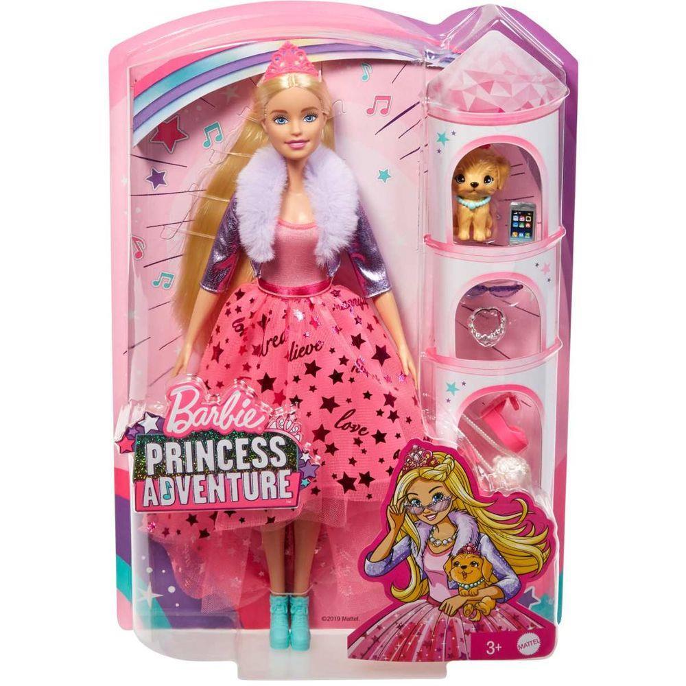 Barbie, Princess Adventure Deluxe Princess - Barbie