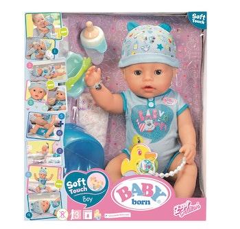 Baby Born - Interaktiv docka (Blå)