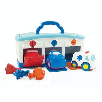 KID, Lek & Lär Garage med bilar