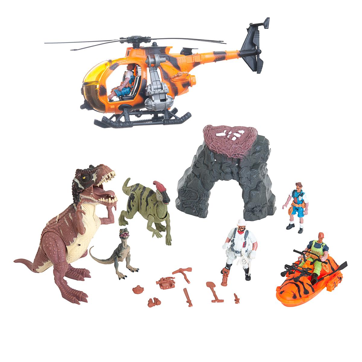 Dino vs World, XL-lekset med grotta