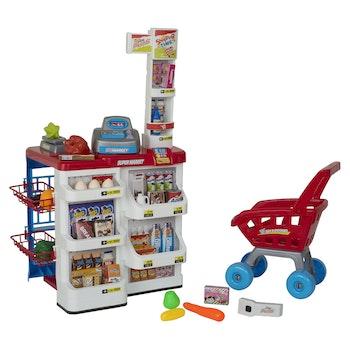 PAP, Supermarket kassa & kundvagn