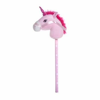 Käpphäst med ljud, Enhörning rosa