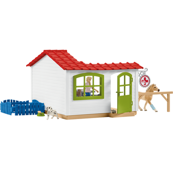 Schleich, Veterinarian Practice With Pets