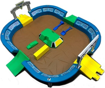 Monster Jam - Monster Dirt Arena Playset