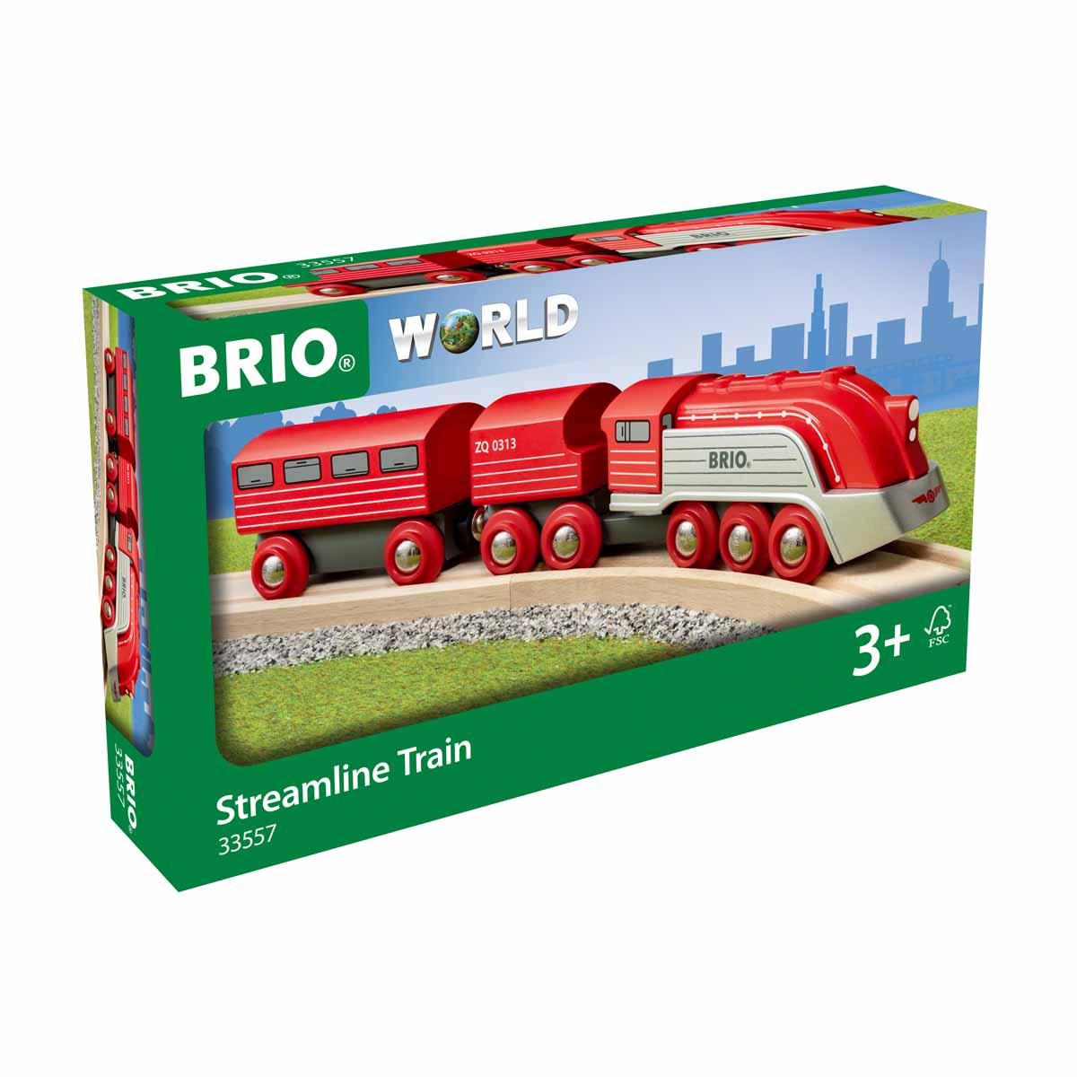 BRIO, Strömlinjeformat tåg
