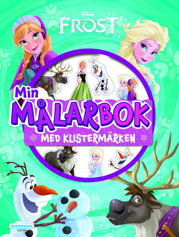 Disney Frozen 2, Min målarbok med klistermärken