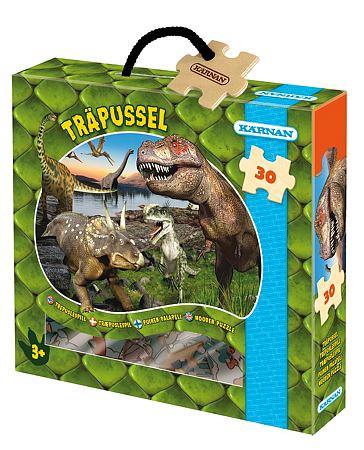 Kärnan, Askpussel 30-bitar dinosaurier
