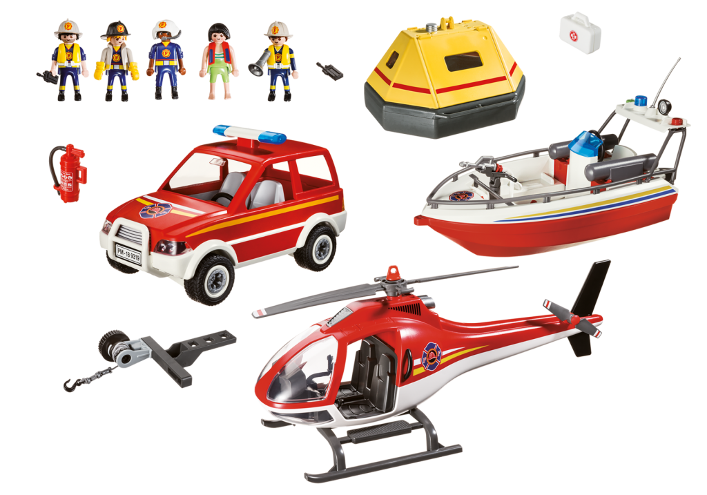 Playmobil, City Action - Brand och räddningsset