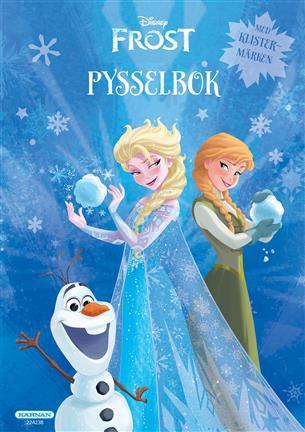 Pysselbok Frost Med Klistermärken Pyssla Med Elsa, Anna Och De Andra Från Frost