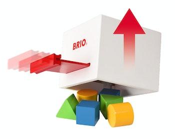 BRIO, 30250 Plocklåda vit