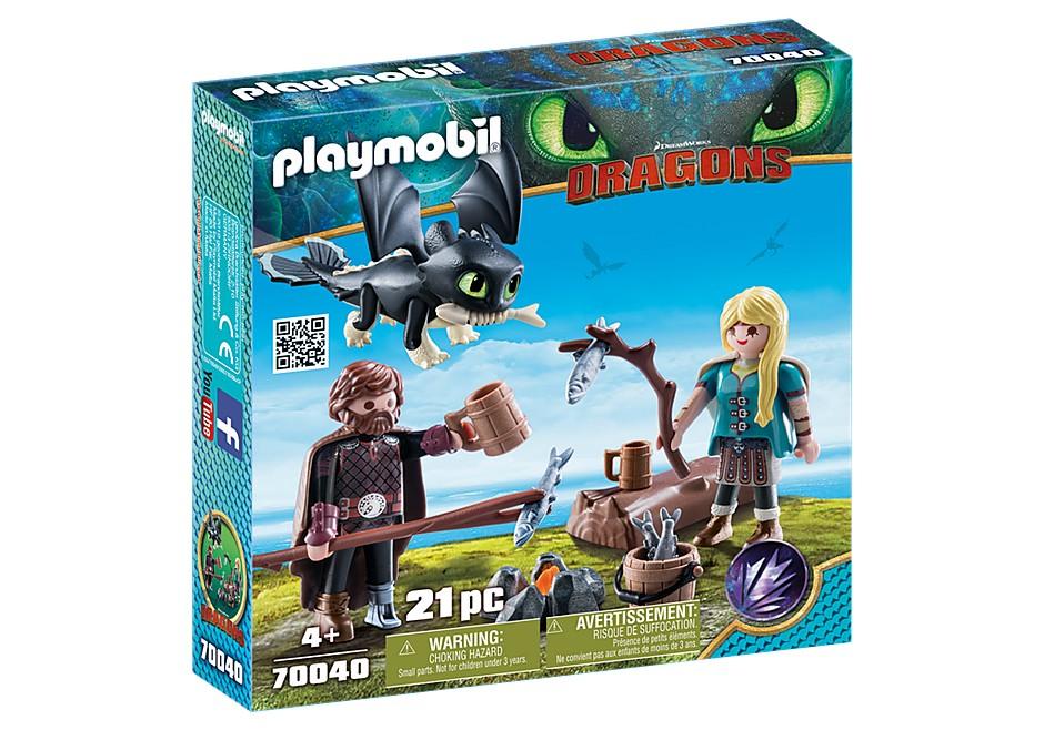Playmobil Dragons - Hicke och Astrid med drakunge