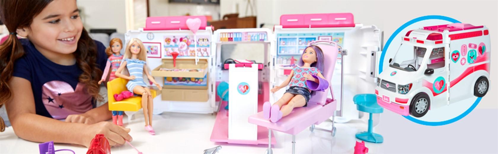 Barbie - Ambulans och mobil klinik