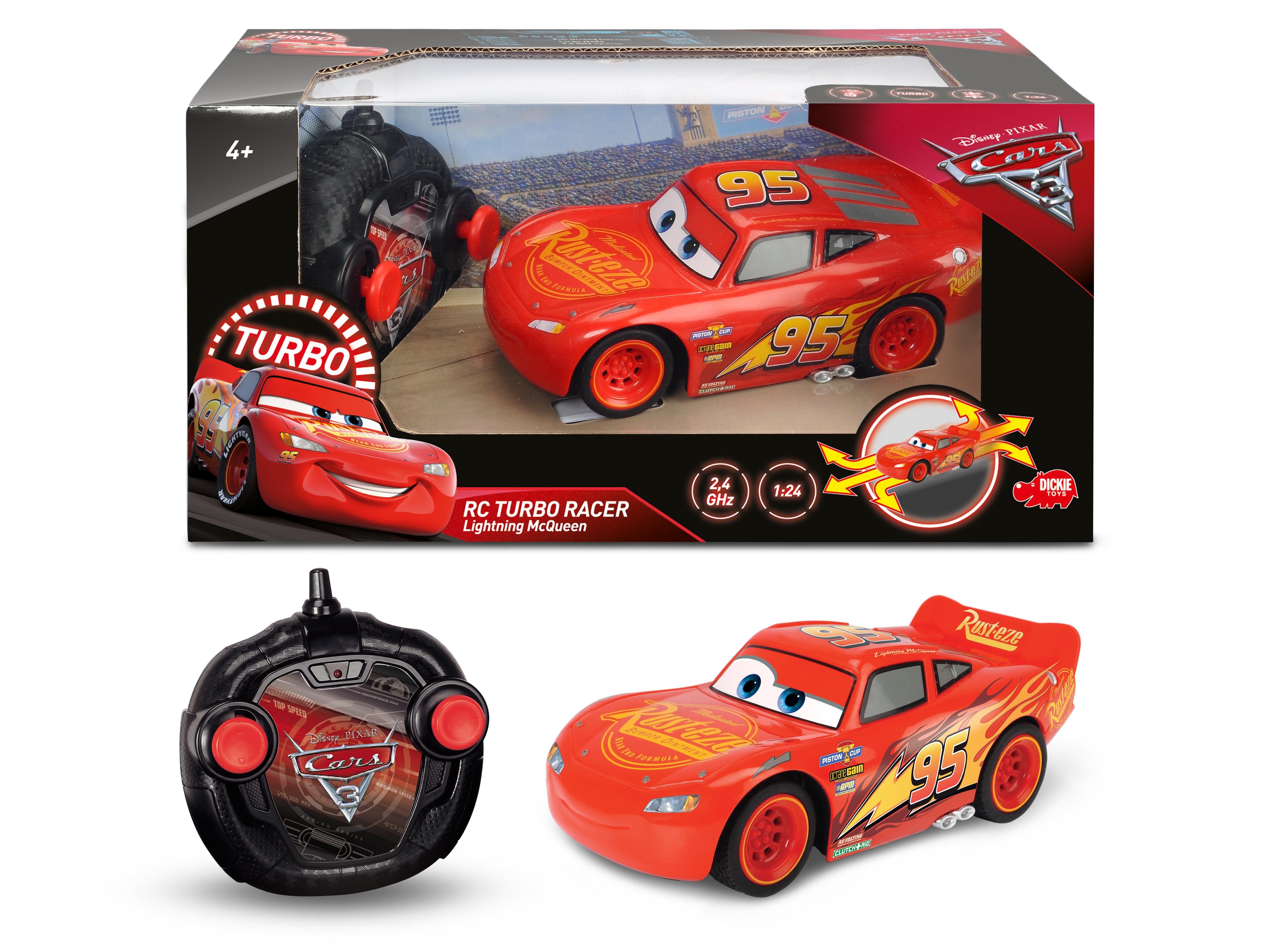 Disney Cars 3, R/C Lightning McQueen 1:24