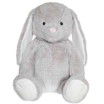 Kanin, grå, 100 cm