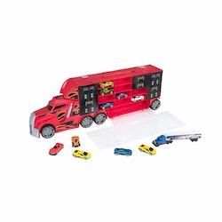 Teamsterz, Stunt Transport med 10 småbilar