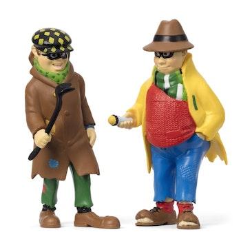 Pippi Långstrump - Dunder-Karlsson och Blom figurset