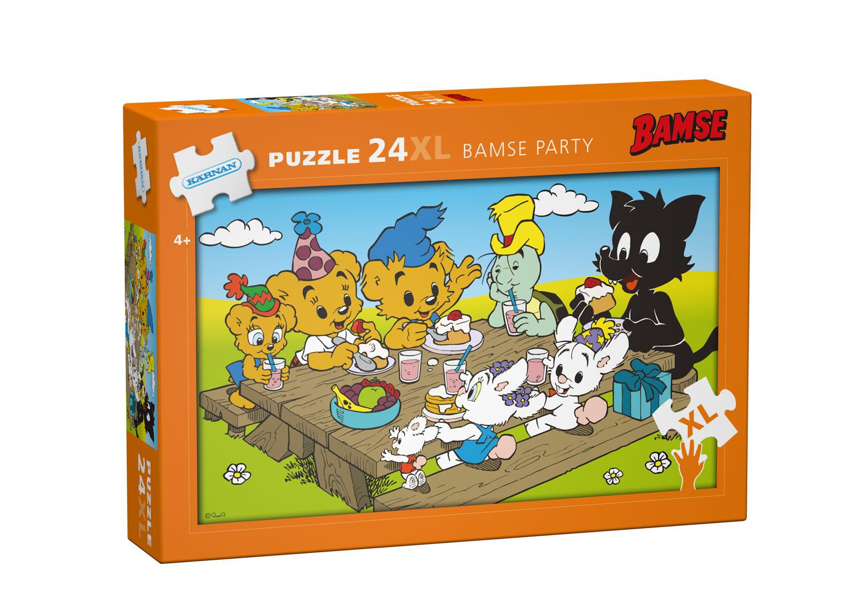 Bamse, Golvpussel - Bamse Party 24-bitar XL