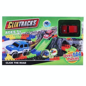 Clixtracks, Bilbana med 144 delar & 1 bil