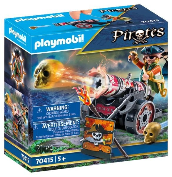 Playmobil 70415, Pirate with Cannon