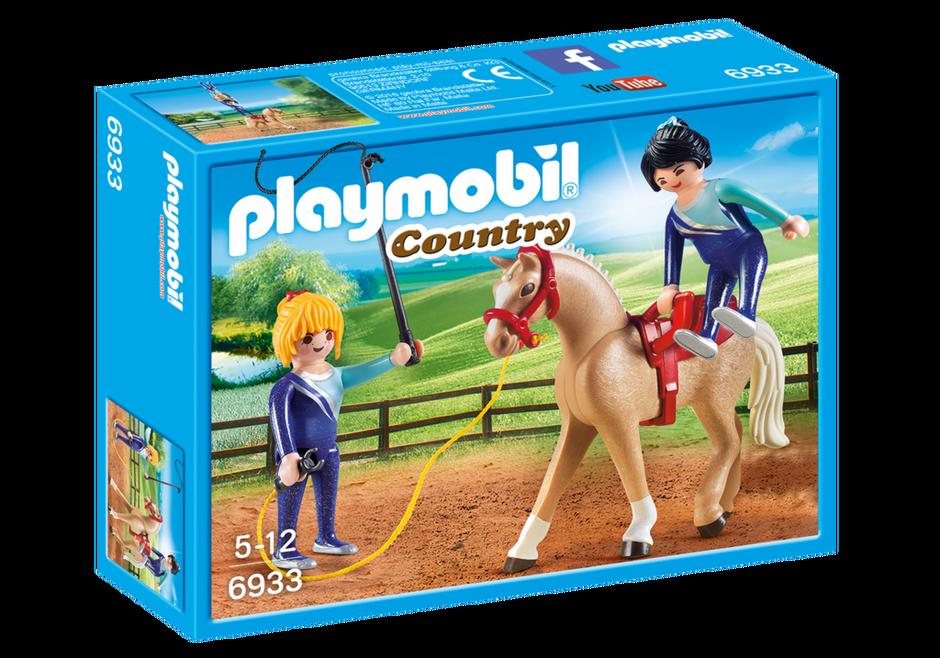 Playmobil Country 6933, Voltigeträning