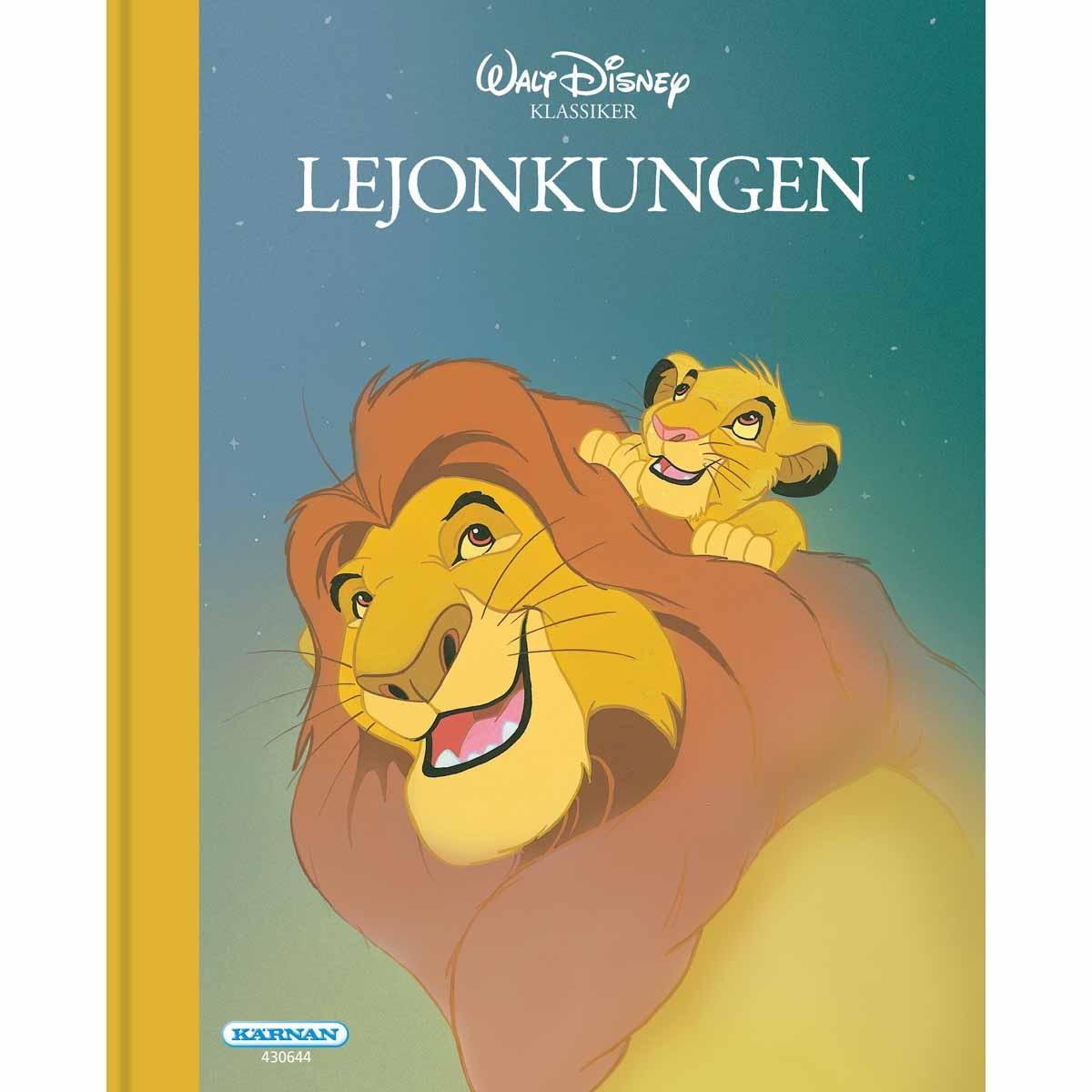 Disney Klassiker Lejonkungen Lyxig Utgåva Av Den Klassiska Disney-Sagan