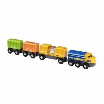BRIO, Three-Wagon Cargo Train