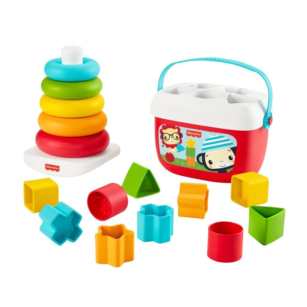Fisher-Price, Babys First Blocks & Rock-a-Stack