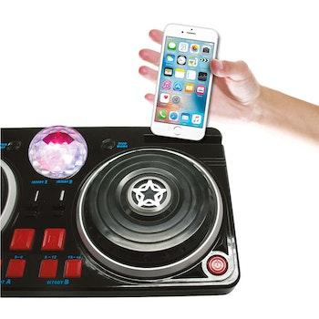 Stage, DJ Mixer bord