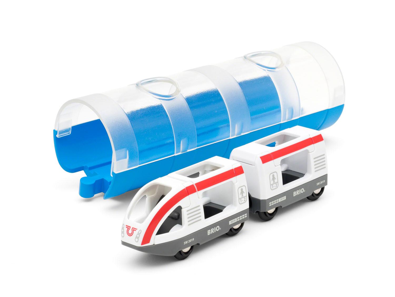 BRIO, Travel 33890 Persontåg och tunnel