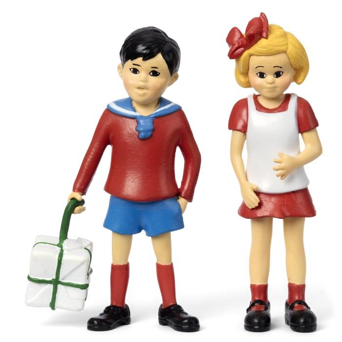 Pippi Långstrump - Tommy och Annika figurset